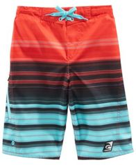 Image of Laguna Big Boys Summer Stripe Swim Trunks