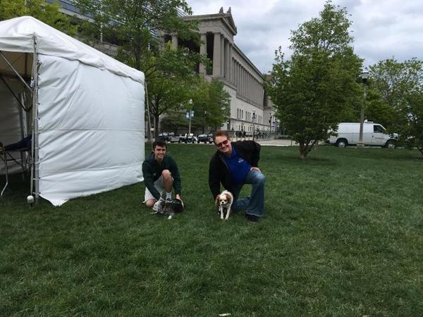 Jeff Enyeart - Supporting the Anti-Cruelty Society's Bark in the Park