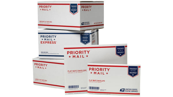usps packages and mailers