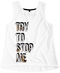 Image of Ideology Big Girls Graphic-Print Tank Top, Created for Macy's