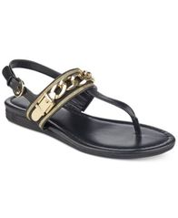 Image of Tommy Hilfiger Hakim Flat Thong Sandals