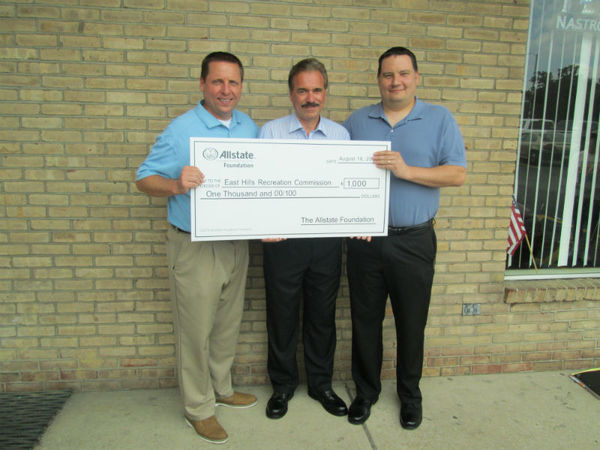 Duaine Detrick - Allstate Foundation Grant for East Hills Recreation Commission