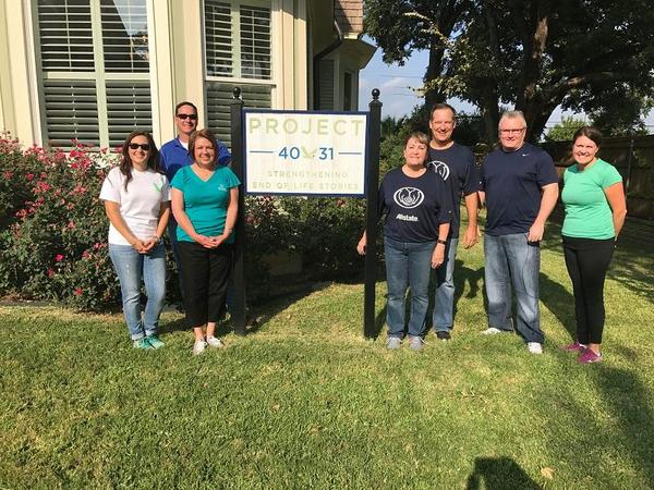 David Hockenberry - Allstate Foundation Grant Helps Fort Worth's Project 4031