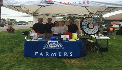 The Jivan team was set up at the Copley Heritage Days!
