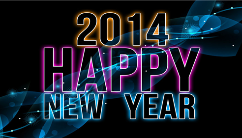 We wish you a 2014 full of Health, Happiness,Peace,Prosperity,Love & Laughter.