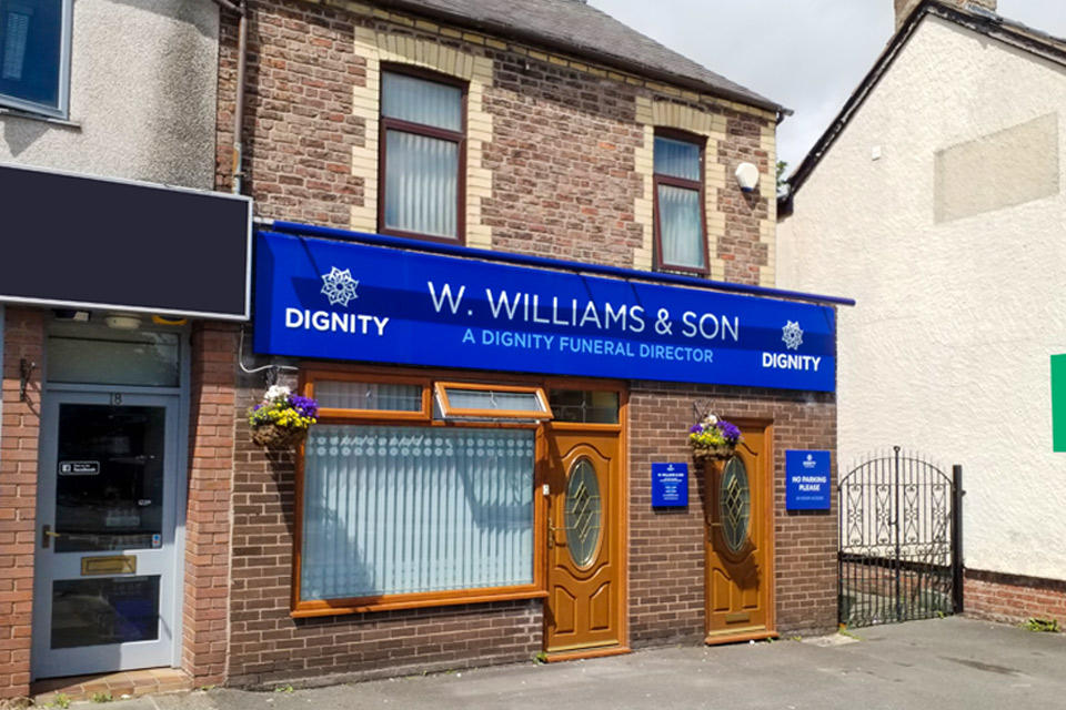 W. Williams & Son Funeral Directors in Ellesmere Port, Cheshire