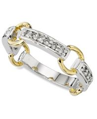 Image of Charter Club Ring, Cubic Zirconia Circle Band