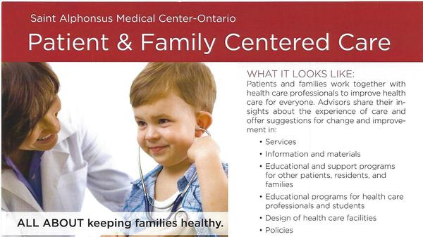 Saint Alphonsus Medical Center - Ontario Patient and Family Advisory Council