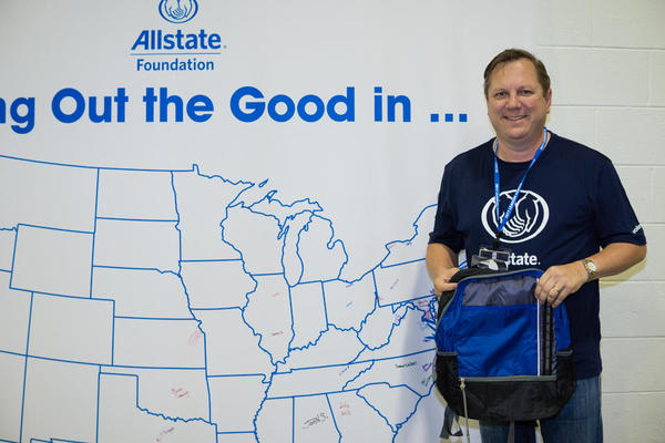 Thomas Walters - Allstate Foundation Helping Hands in the Community