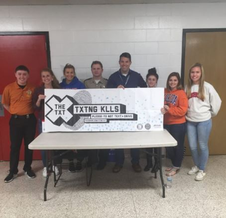 Justin Sorensen - Wapahani High School Students Take X the TXT® Pledge