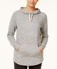 Image of Ultra Flirt Juniors' Funnel-Neck Sweatshirt