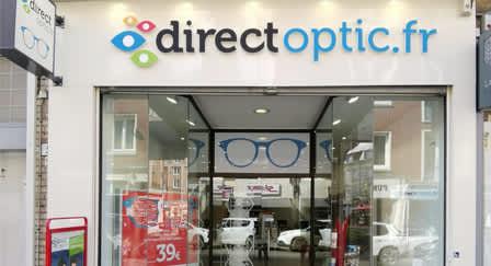 Opticien Amiens : Direct Optic, opticien moins cher à Amiens
