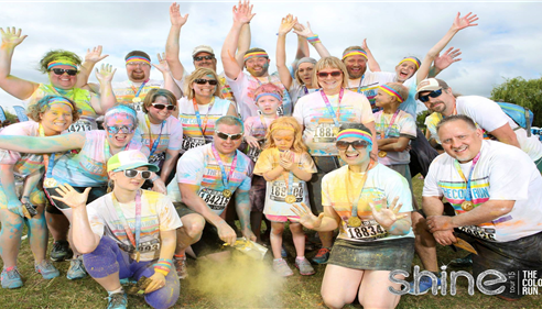 Our district did the color run this year. Can you spot your CSSR?