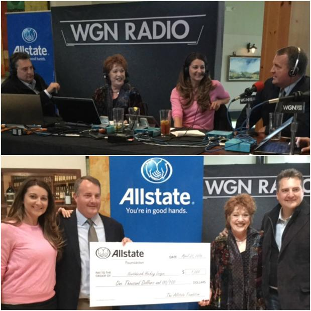 Jeanne Nuccio - Allstate On the Airwaves!