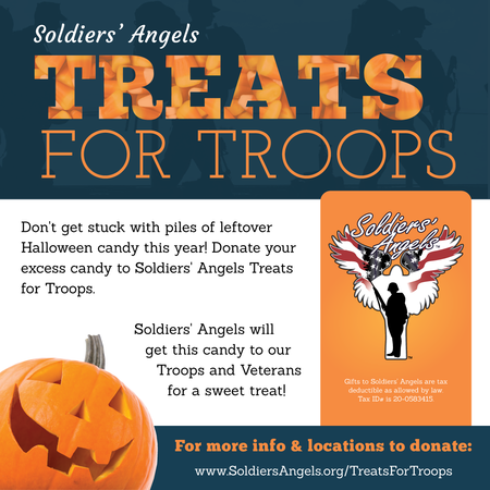 Soldies Angels Treats for Troops