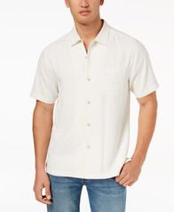 Image of Tommy Bahama Men's Weekend Tropics Silk Shirt, Created for Macy's