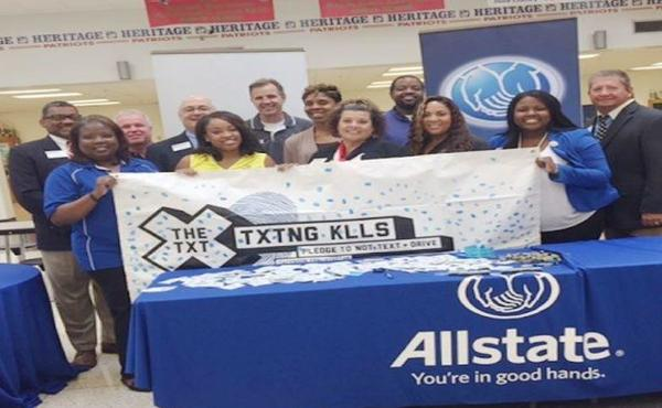 Stacey Randolph-Castillo - High School Students Take the X The Text Pledge