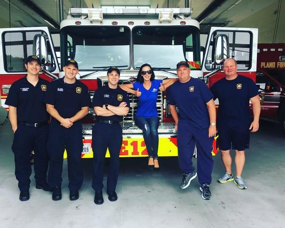 Supporting our local Plano fireman.