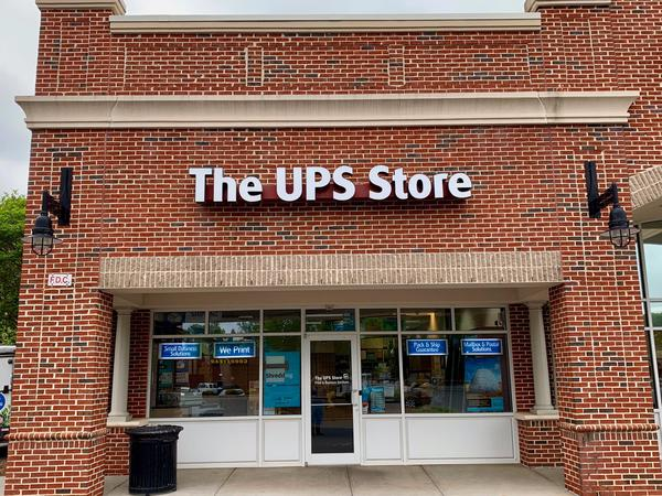 Facade of The UPS Store Fort Mill