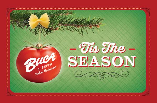 Holiday Buca di Beppo Gift Card
