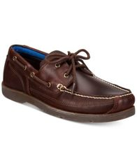 Image of Timberland Men's Piper Cove Leather Boat Shoes