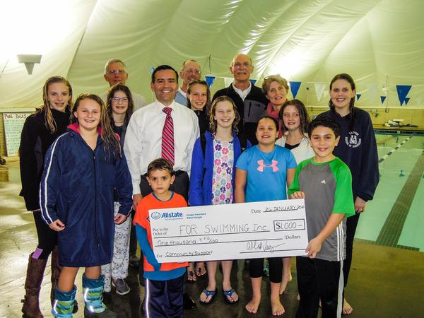Albert Vargas - Allstate Foundation Helping Hands Grant for Friends of Rockbridge Swimming Inc