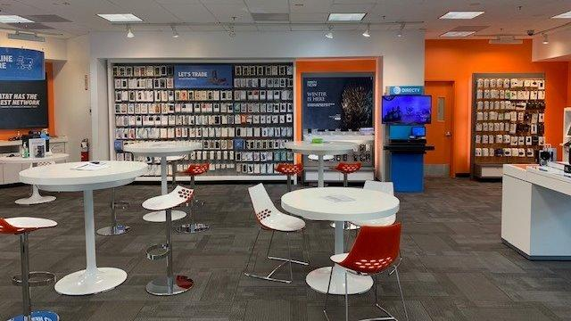 Nittany Mall AT&T Store Interior