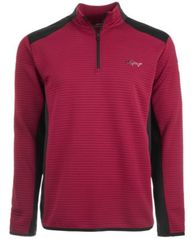 Image of Attack Life by Greg Norman Men's Ottoman Quarter-Zip Shirt, Created for Macy's