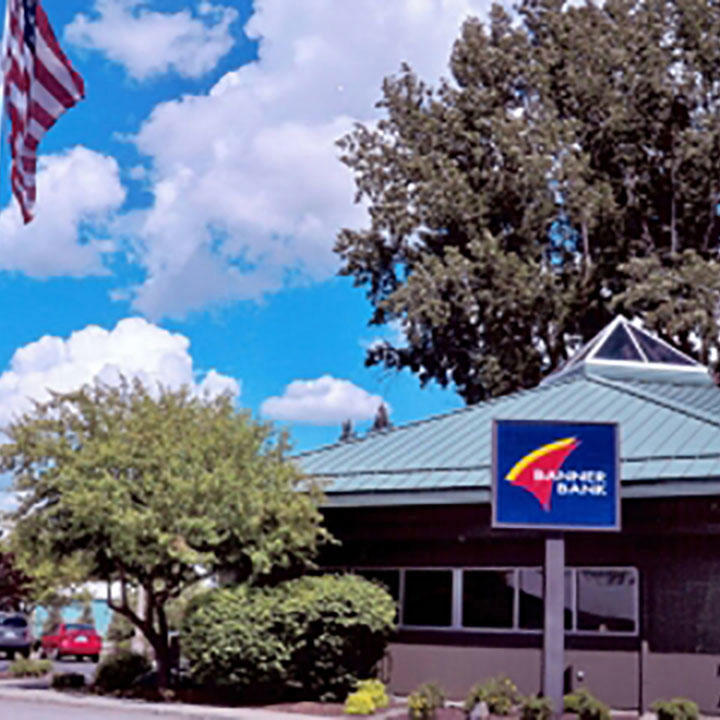 Banner Bank branch in Rockford, Washington