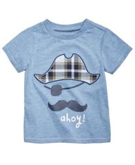 Image of First Impressions Cotton T-Shirt, Baby Boys, Created for Macy's