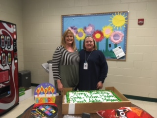 Happy Birthday to our March birthdays at Sugar Hill Elementary School in Gainesville.