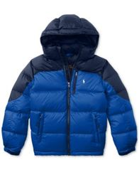 Image of Ralph Lauren Water-Repellent Jacket, Big Boys (8-20)