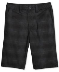 Image of Univibe Signature Plaid Cotton Shorts, Big Boys