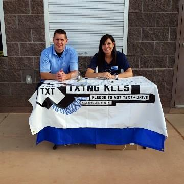 The Shonie Insurance Group, LLC - X the TXT® Pledge at Desert Hills High School