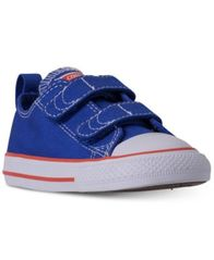 Image of Converse Toddler Boys' Chuck Taylor Ox Casual Sneakers from Finish Line