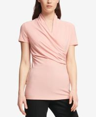 Image of DKNY Ruched Top, Created for Macy's