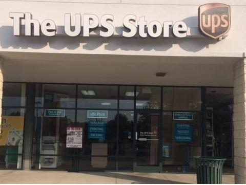 Exterior storefront image of The UPS Store #3402 in Murrells Inlet, SC