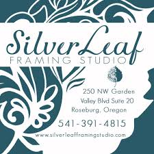 Silver Leaf Framing Studio, 250 NE Garden Valley Rd, Roseburg OR