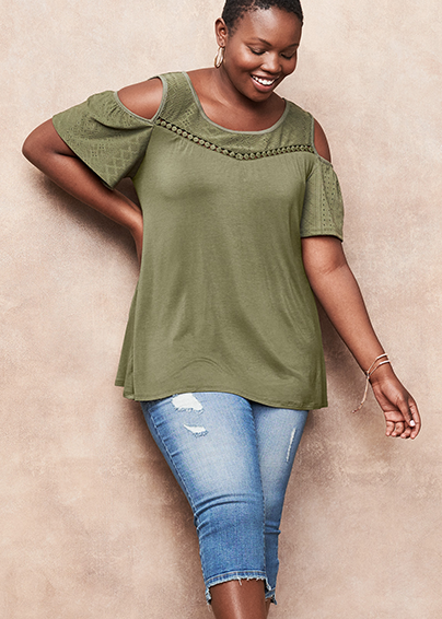 Lane Bryant Plus Size Jeans New Arrivals Image