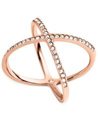 Image of Michael Kors Circle X Ring