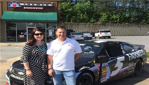 DJ with Natalie Higgins from Hardy Family Automotive Group.