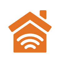 Logo for Smart home setup and installation.