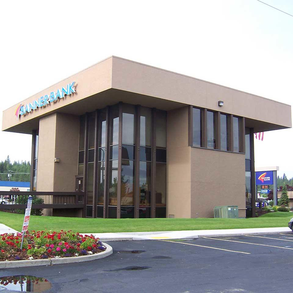 Banner Bank Sprague and Mullen branch in Spokane Valley, Washington