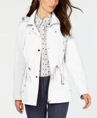 Image of Charter Club Water-Resistant Hooded Anorak Jacket, Created for Macy's