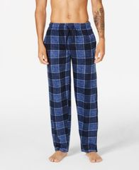 Image of Perry Ellis Men's Fleece Pajama Pants