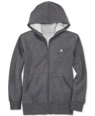 Image of Champion Fleece Zip Hoodie, Little Boys
