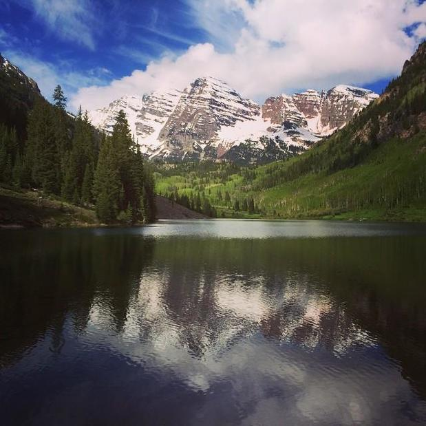 Phil Aitken - Maroon Bells, Colorado...one of the most beautiful places on earth!