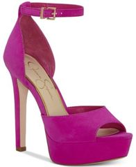 Image of Jessica Simpson Beeya Two-Piece Platform Sandals