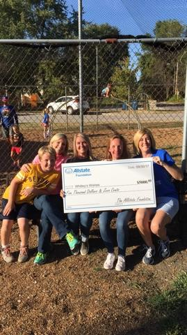 Jessica Harrison-Wilkins - Allstate Foundation Helping Hands Grant for Whitley's Wishes