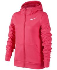 Image of Nike Full-Zip Therma Training Hoodie, Big Girls (7-16)